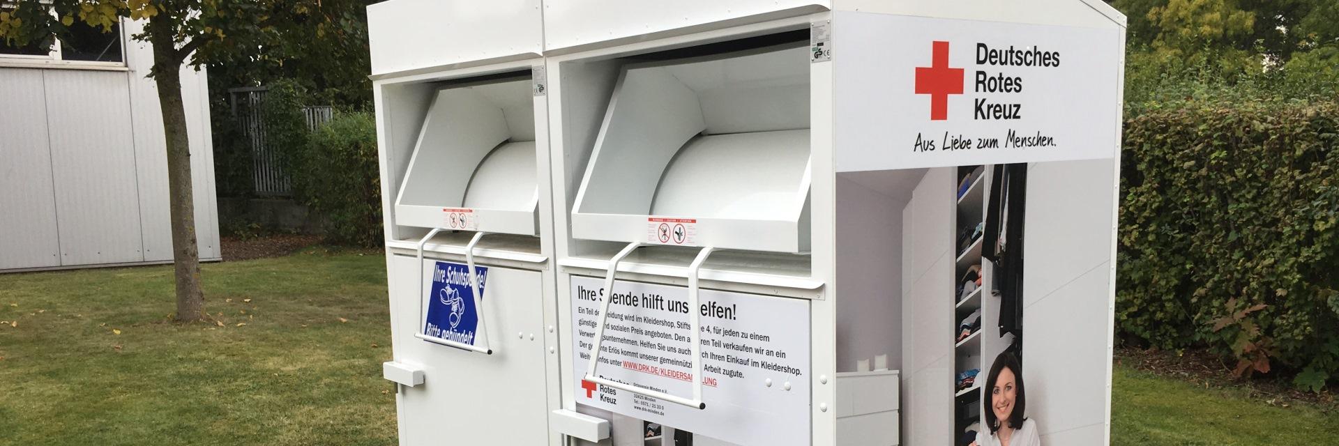 Kleider Container Drk Ortsverein Minden Ev